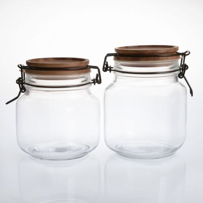Limpid Air Locked Jars Collection