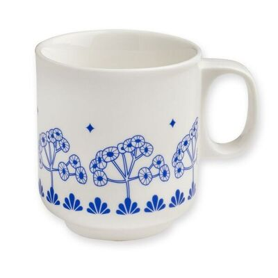 Tasse LEAVES| blau