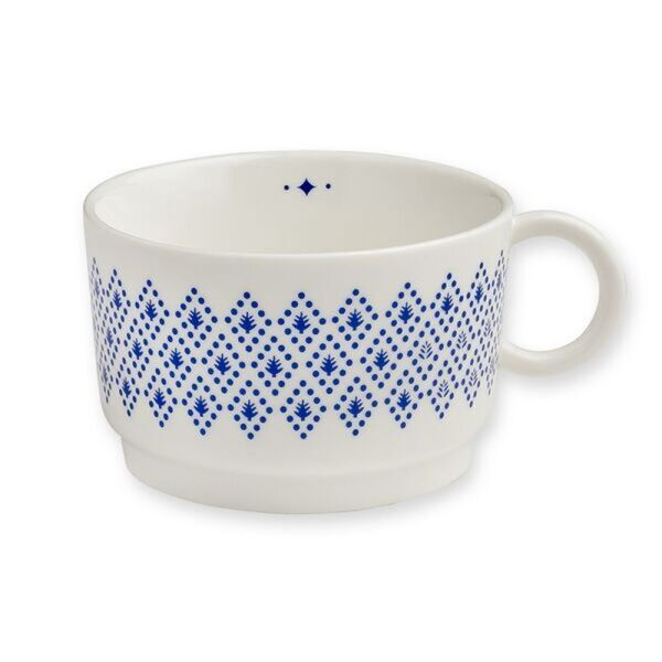 Teetasse GEOMETRIC | blau