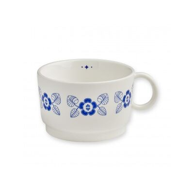 Teetasse FLOWERS | blau