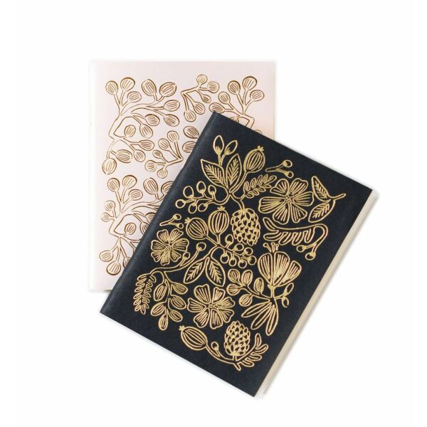 Notizbuch Set Gold Foil