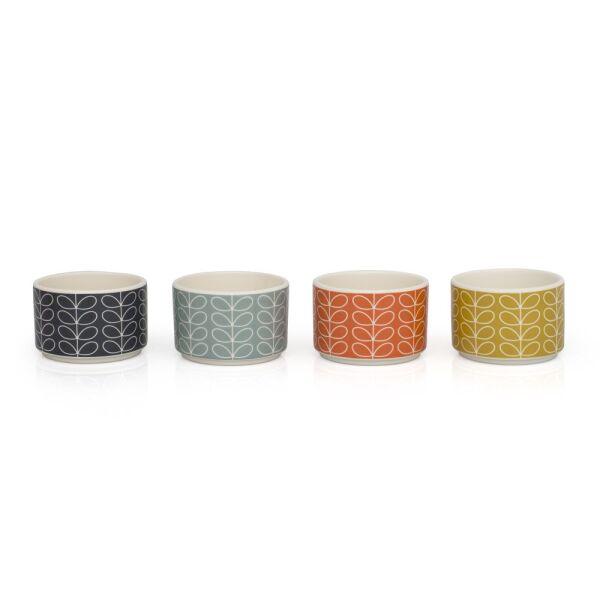 Auflaufformen 4er Set Linear Stem Tomato, Duck Egg, Yellow, Grey, 58 | {Auflaufformen 21}