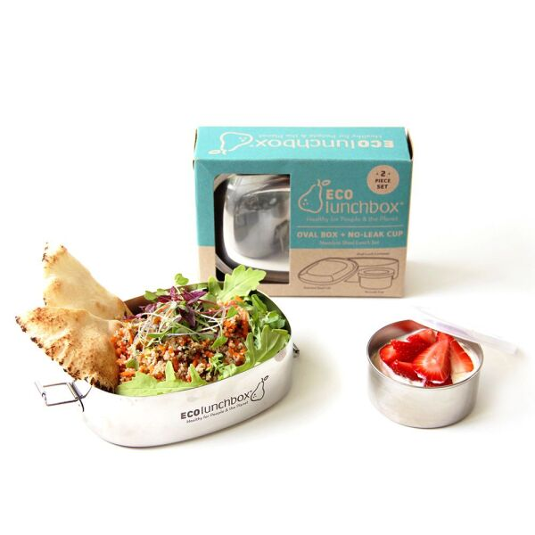 ECOIunchbox | Oval & SNACK CUP