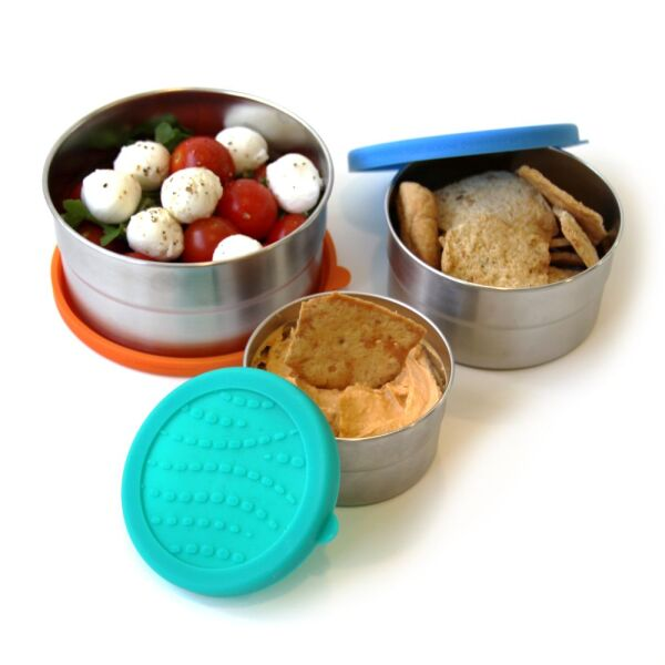 ECOlunchbox  BLUE WATER BENTO | Seal Cup Trio