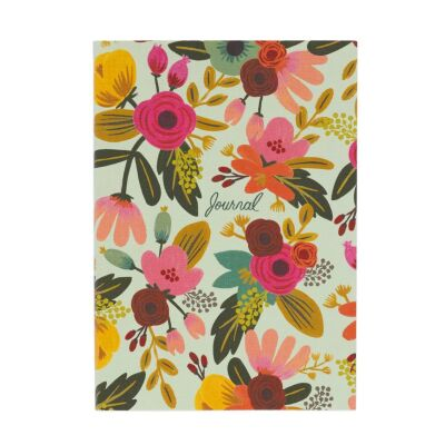 Notizbuch MINT FLORAL