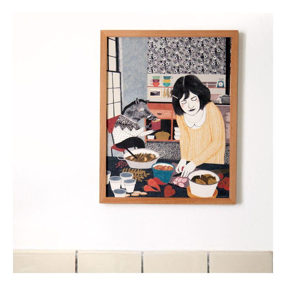 Liekeland Poster Küchenfreund | Artwork | goodshaus, 25,00 €