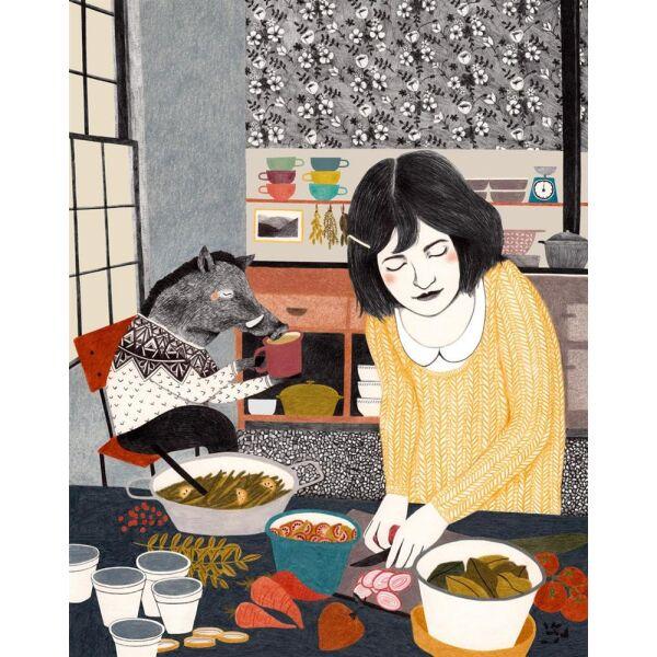 Liekeland Poster Küchenfreund   Artwork   goodshaus, 25,00 €