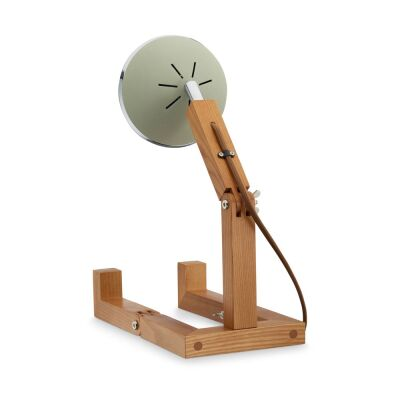 MR WATTSON Original Table Lamp, G9 LED, Ash - Desert Green
