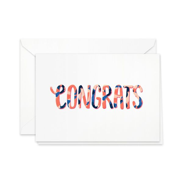 Greeting Card | congrats