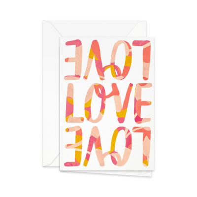 Greeting Card | love, love, love