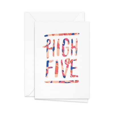 Greeting Card | high five