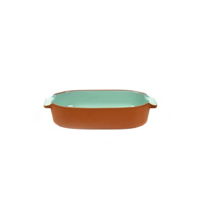 BAKEWARE OVAL SMALL MINT H6 X 29 X 15