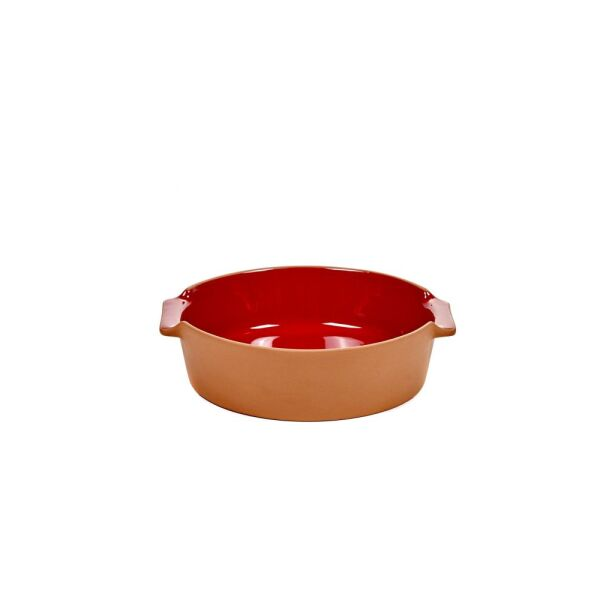 BAKEWARE ROUND SMALL RED H6 X 23 X D21,5