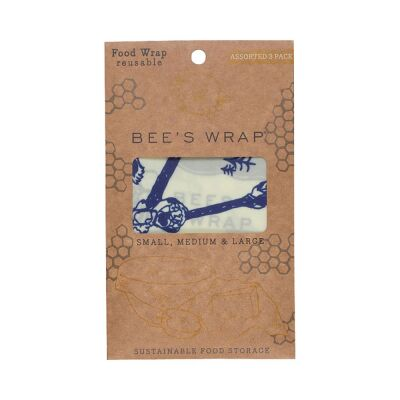 Bees Wrap S,M,L BEES & BEARS | 3er Set