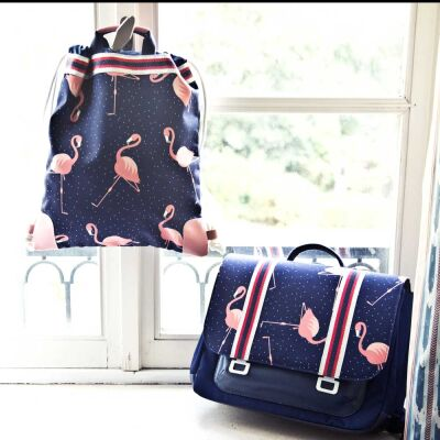 Schulranzen IT BAG Midi Flamingo