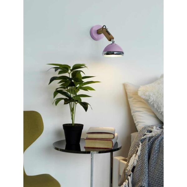 WATTSON Wall Lamp, G9 LED, Ash - Camellia Pink